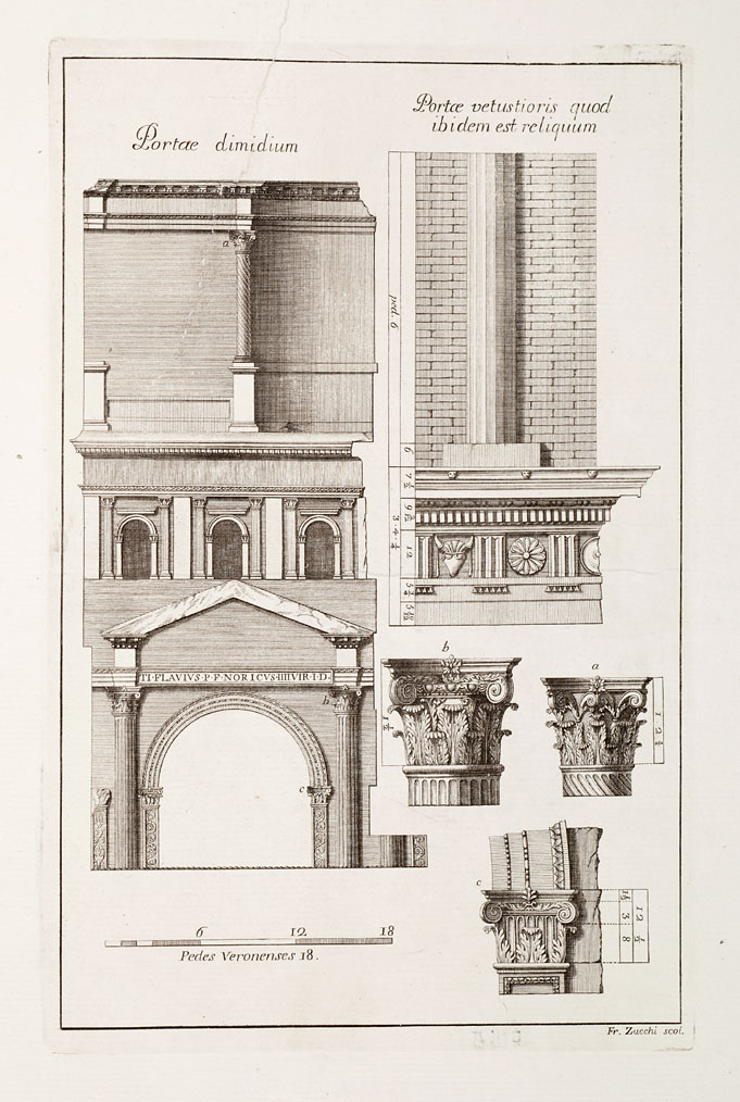 Decorative Arts: Ruins of the palace of the Emperor Diocletian at ...