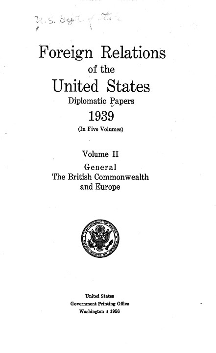 the importance of foreign relations to united states Foreign relations of the united states, 1952-1954: volume ii national security affairs this digital facsimile of foreign relations of the united states is a project of the university of wisconsin-madison libraries in collaboration with the university of illinois at chicago libraries.