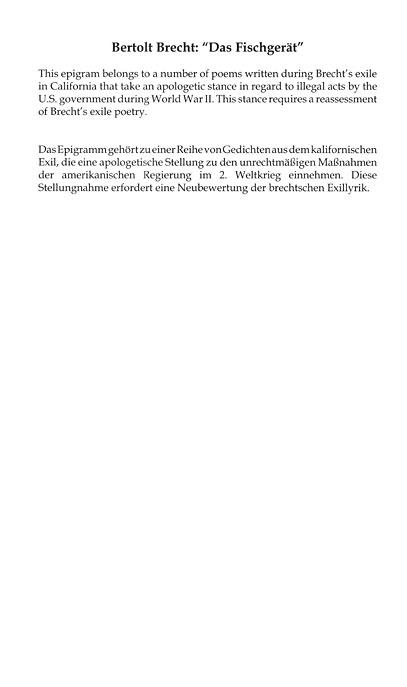 German Studies Political Intimacies Politische