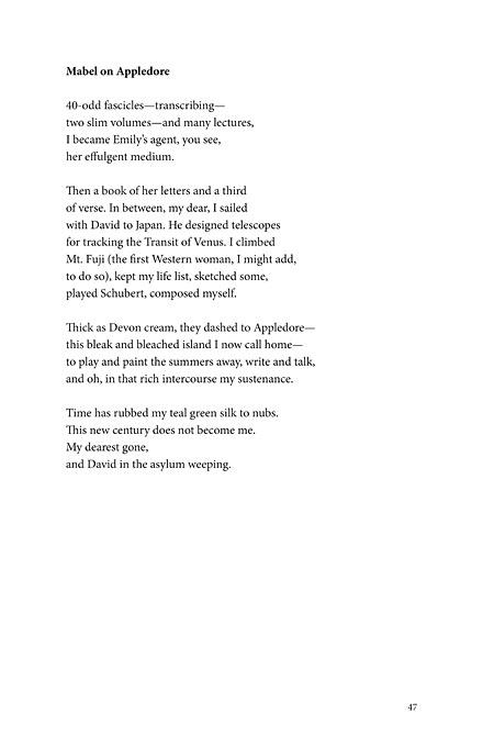 emily dickinson poems list