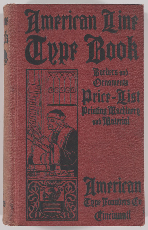 Types Of Book Cover Material : American line type book borders and ornaments price