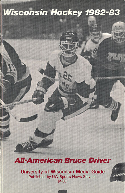 The University Of Wisconsin Collection Hockey 1982 83