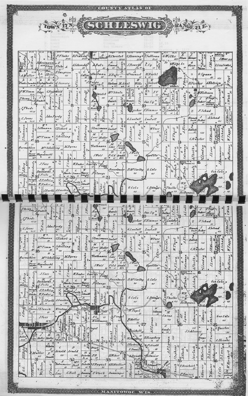 The State: Manitowoc County 1878 plat book index : an index of the