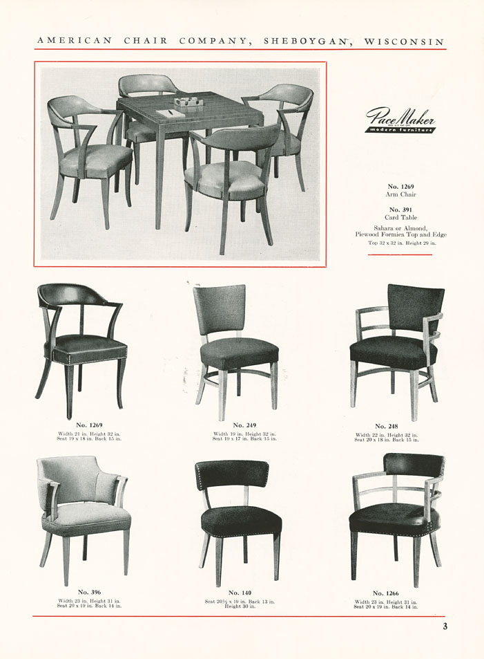 The State Contract Catalog No 5209 Pacemaker Modern Furniture