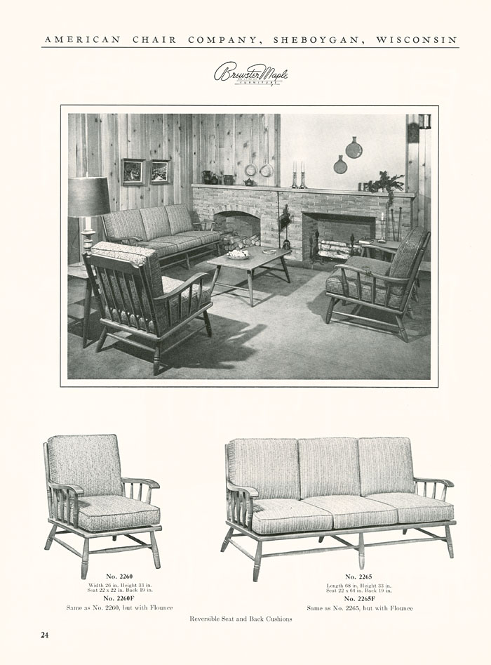 The State: General Catalog No. 5501: Brewster Maple Furniture