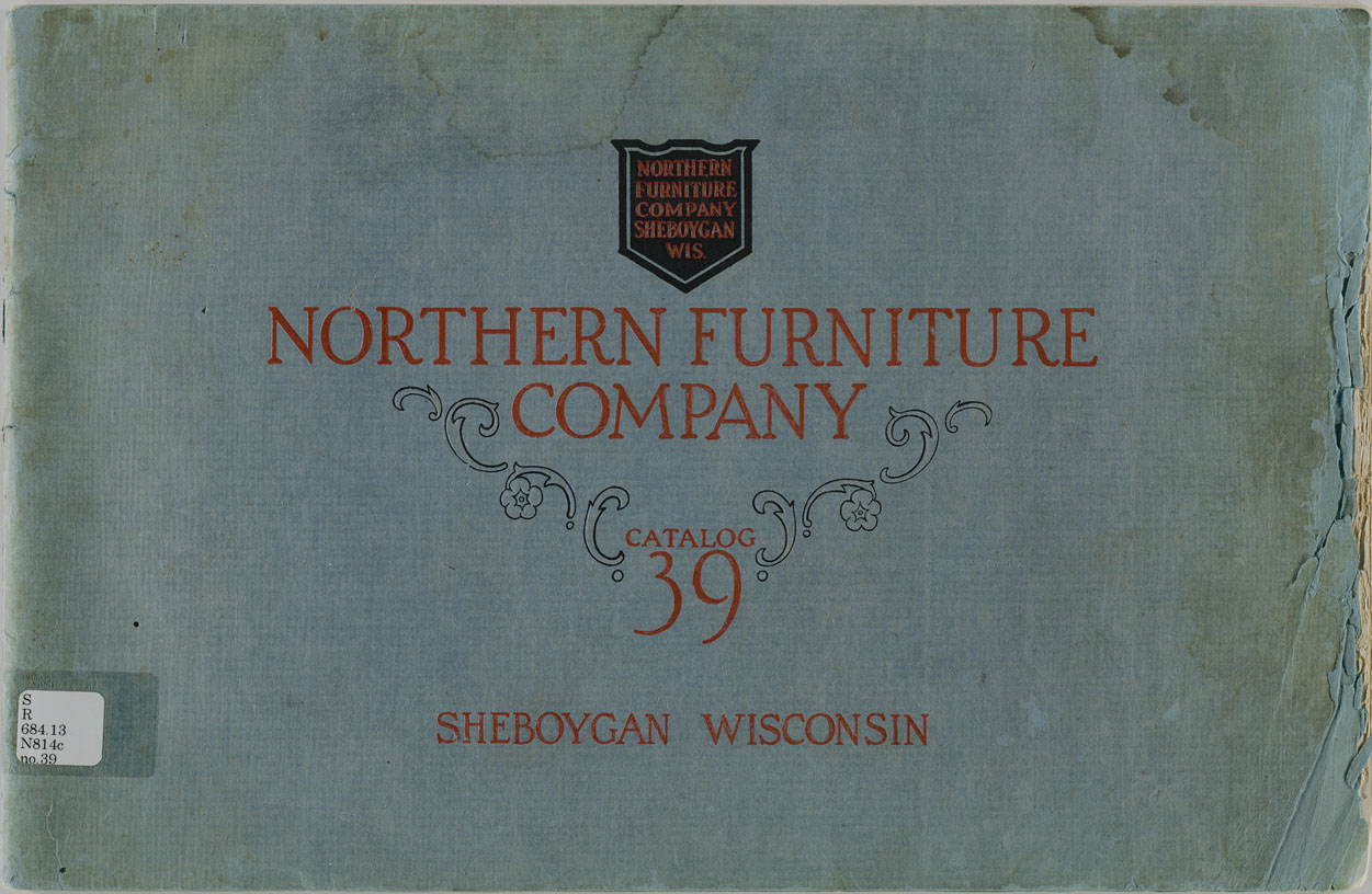 The State Northern Furniture Company Catalog 39 No 39
