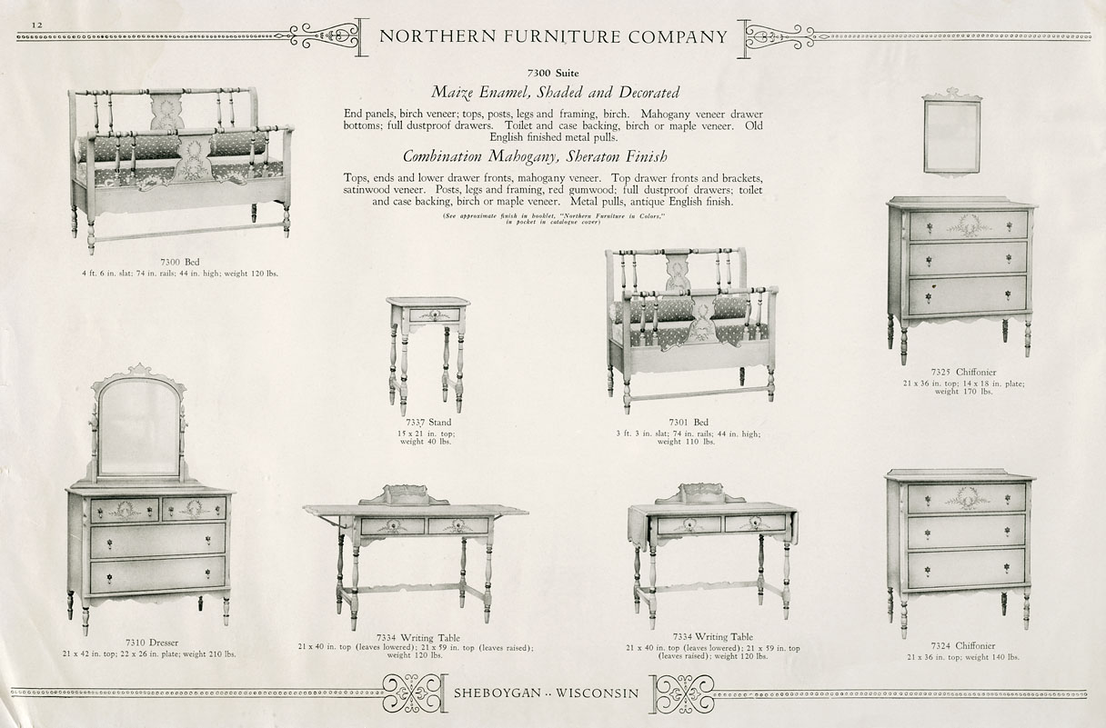 Northern Furniture Company Catalog 39 The State