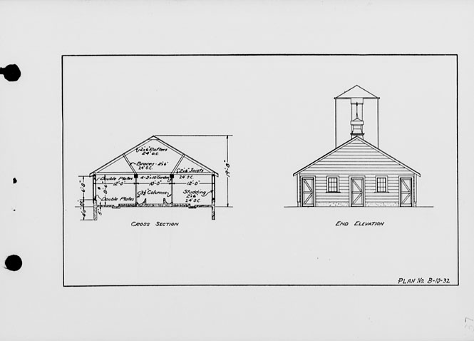 The state index of plans october 1924 one story dairy for Dairy barn plans