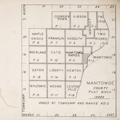 The State: Plat book of Manitowoc County, Wisconsin: Manitowoc