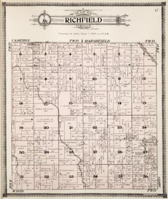 Wood County Wisconsin 2020 Plat Book | Mapping Solutions |Cranmoor Wood County Wisconsin Plat Map